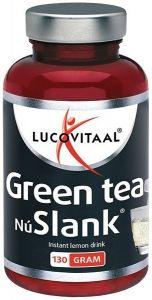 LUCOVITAAL NU SLANK GREEN TEA INSTANT LEMON DRINK POT 130 GRAM