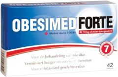 OBESIMED FORTE CAPSULES DOOSJE 42 STUKS