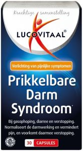 LUCOVITAAL PRIKKELBARE DARM SYNDROOM CAPSULES POT 30 STUKS