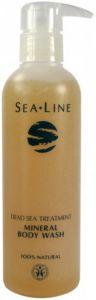 SEA LINE DEAD SEA TREATMENT MINERAL BODY WASH POMP 200 ML