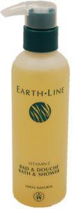 EARTH LINE VITAMINE E BAD & DOUCHE DOUCHEGEL FLACON 200 ML