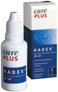 CARE PLUS HADEX WATER DESINFECTANT DRINKWATER DESINFECTIEMIDDEL FLACON 30 ML