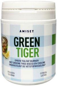 AMISET GREEN TIGER GREEN TEA FAT BURNER POT 132 GRAM