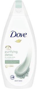 DOVE PURIFYING DETOX BODY WASH DOUCHEGEL FLACON 450 ML