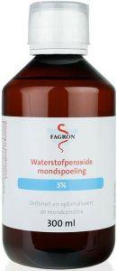 FAGRON WATERSTOFPEROXIDE MONDSPOELING 3% FLACON 300 ML