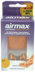 AIRMAX MAXIMIZE YOUR HEALTH M/L PAK 2 STUKS