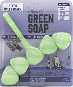 MARCEL'S GREEN SOAP LAVENDER & ROSEMARY TOILETBLOK PAK 1 STUK
