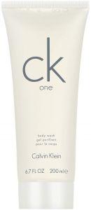 CALVIN KLEIN CK ONE BODY WASH DOUCHEGEL FLACON 200 ML