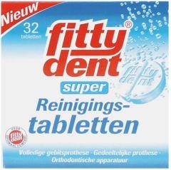 FITTYDENT SUPER REINIGINGSTABLETTEN PAK 32 STUKS