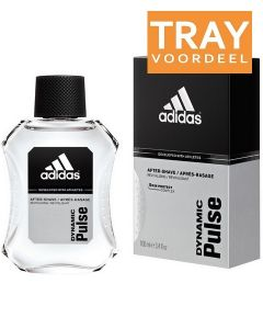 ADIDAS DYNAMIC PULSE AFTER SHAVE TRAY 12 X 100 ML