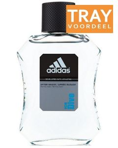 ADIDAS ICE DIVE AFTER SHAVE TRAY 12 X 50 ML