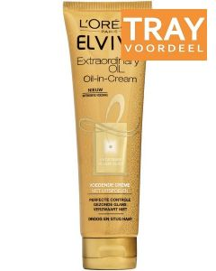 L'OREAL ELVIVE EXTRAORDINARY OIL OIL-IN-CREAM VOEDENDE CREME TRAY 6 X 150 ML
