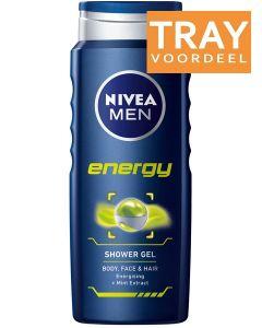 NIVEA MEN ENERGY SHOWER GEL DOUCHEGEL DOOS 24 X 250 ML