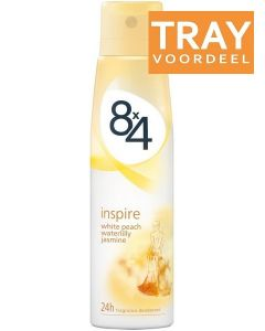 8X4 INSPIRE DEO SPRAY DOOS 30 X 150 ML