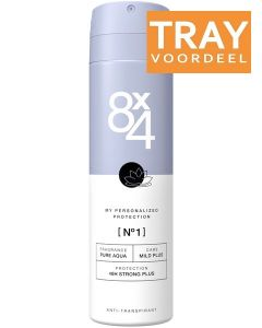 8X4 NO. 1 DRY DEO SPRAY DOOS 30 X 150 ML