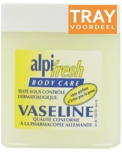 ALPI FRESH BODY CARE VASELINE TRAY 10 X 125 ML