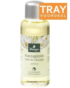 KNEIPP MASSAGEOLIE PATCHOULI RUST EN BALANS TRAY 6 X 100 ML