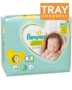 PAMPERS 1 0-3 KG MICRO LUIERS TRAY 6 X 24 STUKS