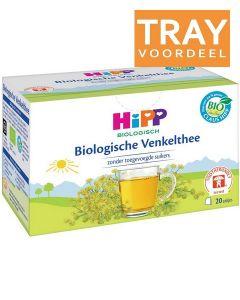 HIPP BIOLOGISCHE VENKELTHEE 4+ MAAND TRAY 6 X 20 ZAKJES