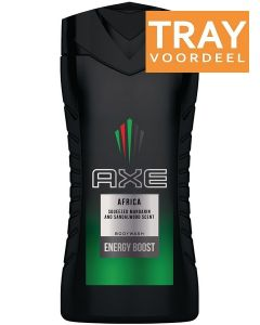 AXE AFRICA SHOWERGEL DOUCHEGEL TRAY 6 X 250 ML