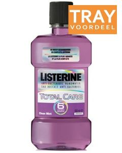 LISTERINE TOTAL CARE MONDWATER TRAY 6 X 500 ML