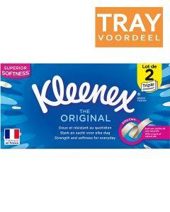 KLEENEX ORIGINAL TISSUES TRAY 12 X 2 X 72 STUKS