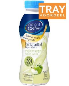 WEIGHT CARE DRINKMAALTIJD YOGHURT-APPEL TRAY 6 X 330 ML