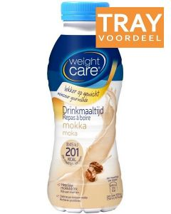 WEIGHT CARE DRINKMAALTIJD MOKKA TRAY 6 X 330 ML