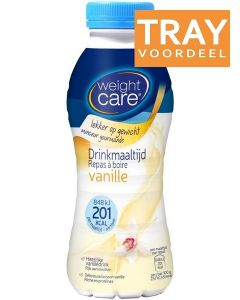 WEIGHT CARE DRINKMAALTIJD VANILLE TRAY 6 X 330 ML
