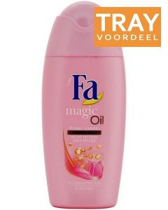 FA MAGIC OIL PINK JASMIN SHOWER GEL DOUCHEGEL TRAY 12 X 50 ML