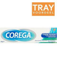 COREGA TRIPLE ACTION KLEEFCREME DOOS 24 X 40 ML