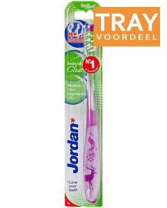 JORDAN INDIVIDUAL CLEAN SOFT TANDENBORSTEL TRAY 10 X 1 STUK