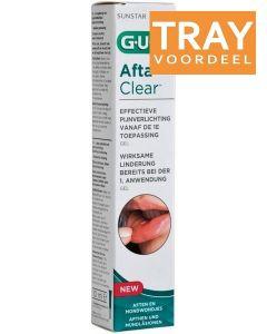 GUM AFTA CLEAR AFTEN EN MONDWONDJES DOOS 96 X 10 ML