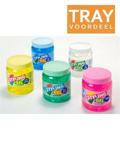 HEGRON STYLING GEL EXTRA STRONG (GEEL) TRAY 12 X 500 ML