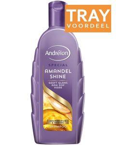 ANDRELON AMANDEL SHINE SHAMPOO TRAY 6 X 300 ML