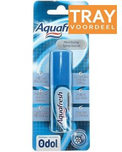 AQUAFRESH MONDSPRAY SPRAY TRAY 12 X 15 ML