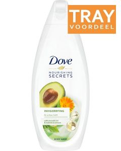 DOVE NOURISHING SECRETS INVIGORATING BODY WASH DOUCHEGEL TRAY 6 X 225 ML