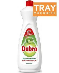 DUBRO LIMOEN FRIS AFWASMIDDEL TRAY 12 X 900 ML