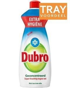 DUBRO TEA TREE OLIE AFWASMIDDEL TRAY 12 X 500 ML