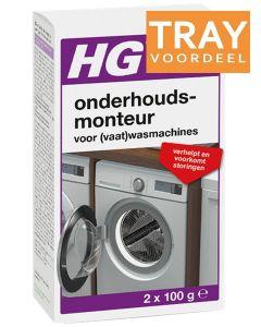 HG APPARATEN ONDERHOUDSMONTEUR TRAY 6 X 200 ML