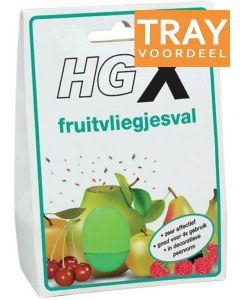 HG X FRUITVLIEGJESVAL TRAY 6 X 20 ML
