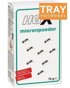 HG X MIERENPOEDER TRAY 6 X 75 GRAM
