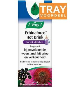 A. VOGEL ECHINAFORCE HOT DRINK SIROOP DOOS 24 X 100 ML