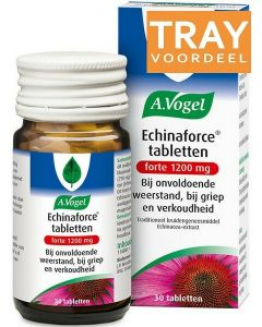 A. VOGEL ECHINAFORCE TABLETTEN FORTE 1200 MG DOOS 42 X 30 STUKS
