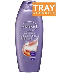 ANDRELON BAD & DOUCHE ONTSPANNED & KALMEREND DOUCHEGEL TRAY 6 X 750 ML