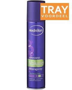 ANDRELON VERRASSEND VOLUME HAARLAK TRAY 6 X 250 ML