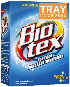BIOTEX VOORWAS & WASKRACHTVERSTERKER TRAY 7 X 750 GRAM