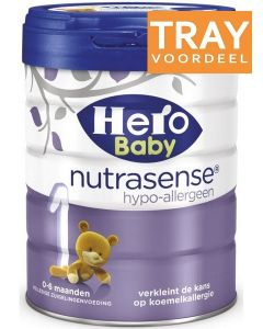 HERO BABY NUTRASENSE HYPO-ALLERGEEN 1 TRAY 2 X 700 GRAM