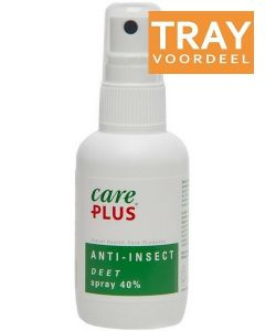 CARE PLUS ANTI-INSECT DEET SPRAY 40% DOOS 144 X 60 ML