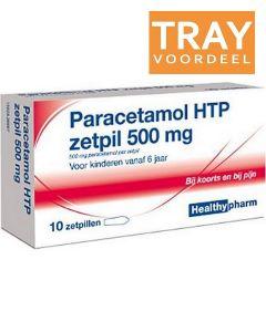 HEALTHYPHARM PARACETAMOL ZETPIL 500 MG VOOR KINDEREN VANAF 6 JAAR TRAY 150 X 6 STUKS